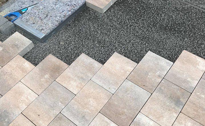 Pflastersteine & Stufen
